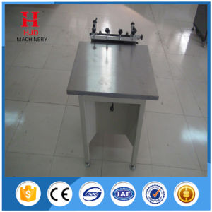 Hjd-A4 Manual Suction Screen Printing Table pictures & photos
