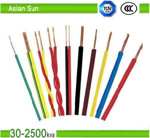House Wiring PVC Insulated Copper Wire Electric Wire 1.5mm pictures & photos