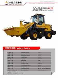 Made in China High Quality Loader Zl20 pictures & photos