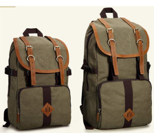 Canvas Hiking Backpack Bag, Travel Backpack Bag (M0086) pictures & photos