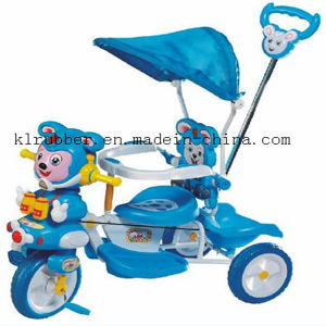 Bright Plastic Baby Tricycle with Canopy pictures & photos