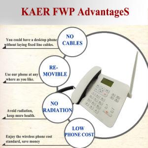 GSM&PSTN Rj11 SIM Card Landline Phone (KT1000 (162)) pictures & photos