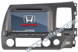 Witson Special Car DVD Player GPS for Honda Civic (Right Drive Version) pictures & photos