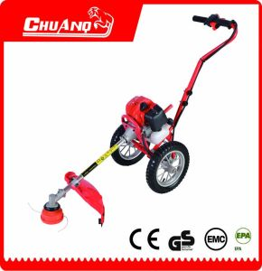 Single Handle Hand Push Type Gasoline Brush Cutter pictures & photos