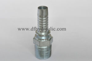 NPT Male Swaged American Hose Fitting pictures & photos