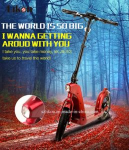 Adult E-Scooter with LCD Display and Bluetooth Speakers. Foldable, 36V, 500W, Far Distance Capacity electric Scooter.