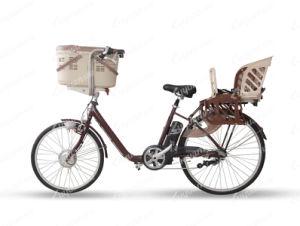 Torque Sensor Baby Seat/ Pet Basket Utility Electric Bicycle (PB108) pictures & photos