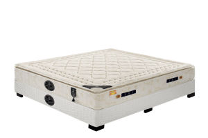 Thin Topper Spring Mattress with Box pictures & photos