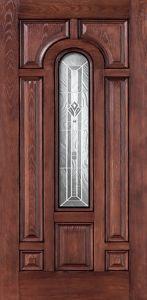 Oak Fiberglass Door pictures & photos