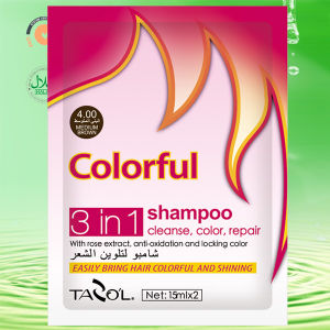 15ml*2 Tazo′l Light Brown Hair Color Shampoo pictures & photos