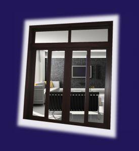 Aluminum Heatproof Door