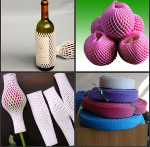 Customized EPE Foam Protective Sleeve Net for Fruits and Wine Bottles pictures & photos