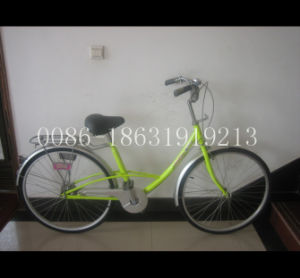 "26"" Steel Frame Bicycle for Lady Bike (HC-LD-2693) pictures & photos"