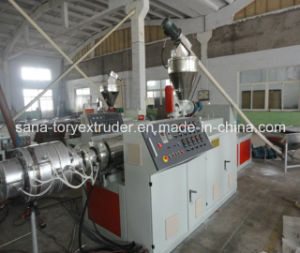 Easy Operation Plastic Extrusion Machine PVC Pipe Production Line pictures & photos