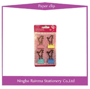 Color Metal Binder Clip with Squirrel Shape pictures & photos