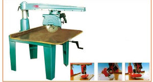 Easy and Small Radial Arm Saw Woodworking Machine/ Radial Saw/ Heavy Duty Radial Arm Saw pictures & photos