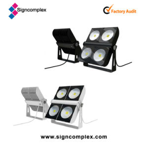 Bridgelux COB 300W IP65 Modular LED Flood Light Wight CE RoHS UL Dlc pictures & photos