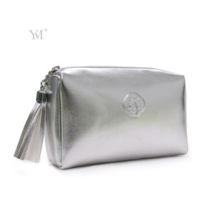 Best Selling Promotional Shiny Gold Waterproof Cosmetic Bag pictures & photos