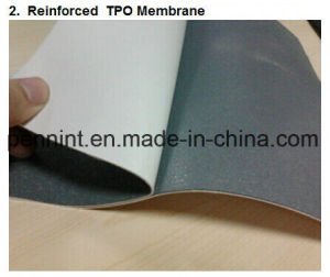 Tpo Waterproof Membrane, Waterproofing Materials for Concrete Roof pictures & photos
