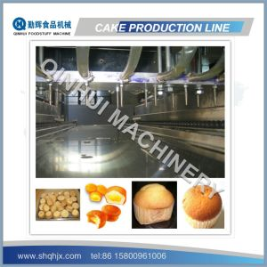 Complete Full Automatic Custard Cake Production Line pictures & photos