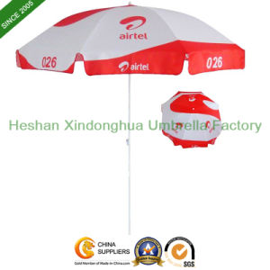 8ft Sun Outdoor Parasol Beach Umbrella for Promotional Display (BU-0054W) pictures & photos