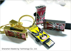 Hot Selling Facial Makeup USB Flash Drives with Full Capacities pictures & photos