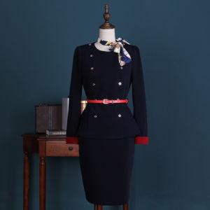 Custom Women Pilot Skirt Airline Stewardess Uniform pictures & photos