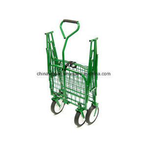 Heavy Duty Garden Camping Folding Wagon Trolley pictures & photos