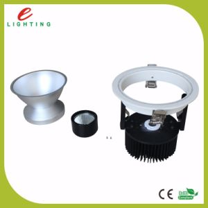 Dimmable Recessed COB LED Downlight Housing