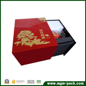 Luxury Waterproof Square Wooden Tea Box pictures & photos