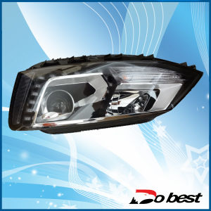 for Volkswagen VW Headlight, Head Light (dB-VK-11104) pictures & photos