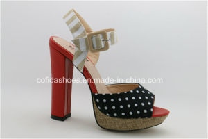 Sexy Red High Heels Women Sandals for Fashion Lady pictures & photos