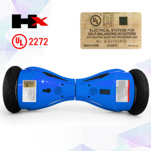 fashion Two Wheel Balancing Scooter Dural Channels Bluetooth Hoverboard UL2272 pictures & photos