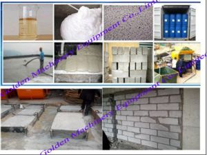 Concrete Cement Foaming Block Warming Wall Making Machine (WSCF) pictures & photos