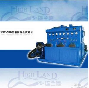 Advanced Technology Comprehensive Hydraulic Pump/Motor/Vale Test Bench pictures & photos