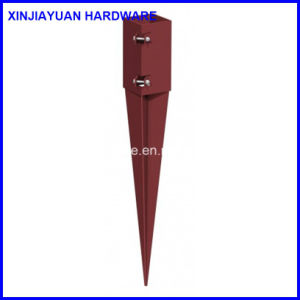71X71X750mm Hot Dipped Galvanized Pole Anchor with 2mm Plate Thickness pictures & photos