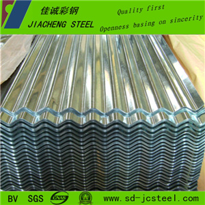 High Quality Azinc Coated Gl Steel Sheet for Steel Construction
