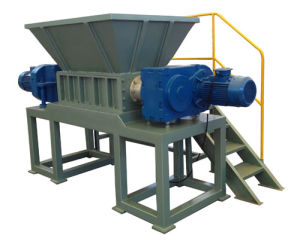High Efficiency Double Shaft Shredder Machine for Sale pictures & photos