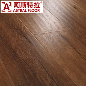 12mm Little Embossment Laminate Flooring (U-Groove) / (AS0007-17) pictures & photos