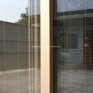 Built Invenetian Blinds Between Double Hollow Glass pictures & photos