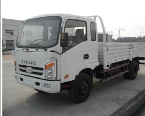 China Popualr 5 Ton Cargo Truck with Turbo Charger pictures & photos