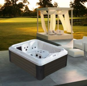 Monalisa LED Luxury Skirt Outdoor Whirlpool Hot Tub (M-3392) pictures & photos