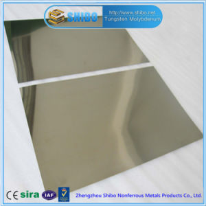 Factory Direct Sale Pure Molybdenum Sheet with Cold Rolled Bright Surface pictures & photos