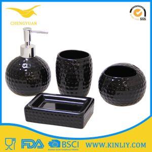 High Quality Ceramic Toothpaste Dispenser Bathroom Accessory Bathroom Set pictures & photos
