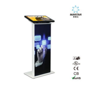 4k Floor Standing Touch Screen Totem Information Kiosk pictures & photos