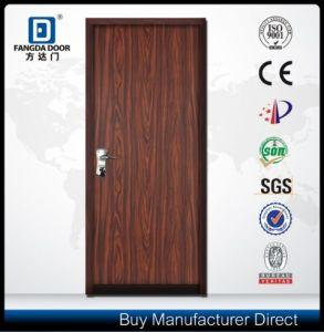Wood Grain Israeli Security Steel Door pictures & photos