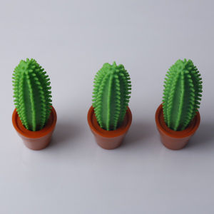 Promotion Plastic Cute Desk Colourful Cactus Pen
