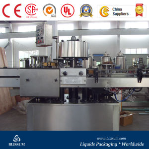 Glass Bottle Paper Label Labeling Machine/Wet Glue Labeling Machine pictures & photos