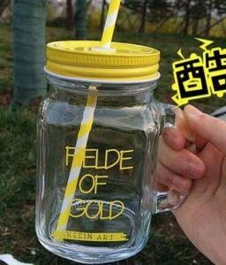 16 Oz Glass Drinking Jar/Mason Drinking Glass Bottle/ Mason Mug pictures & photos