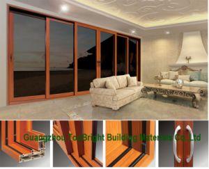 High Quality Aluminium Triple Sliding Door, 3 Stack Doors Price pictures & photos